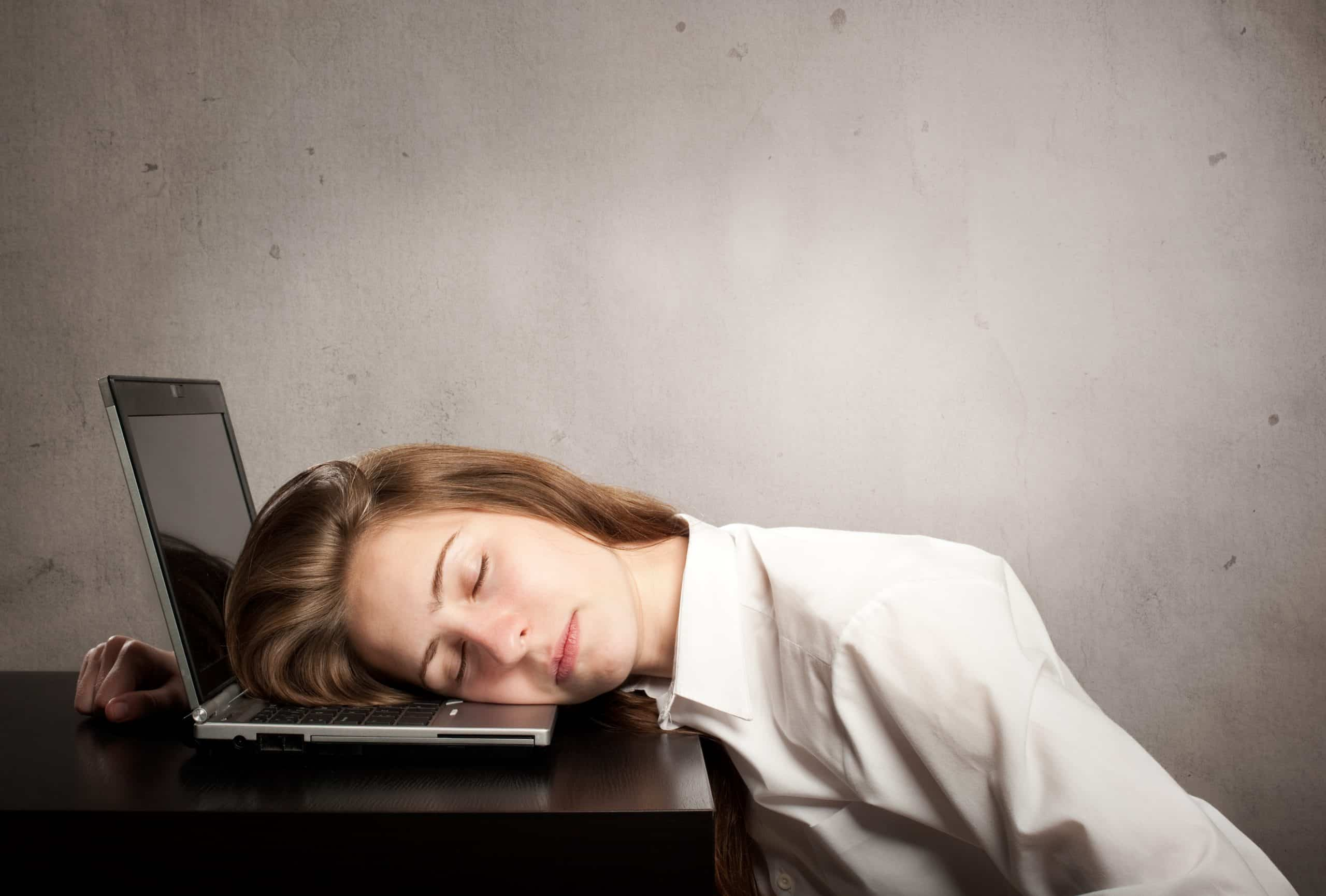 stop working too tired